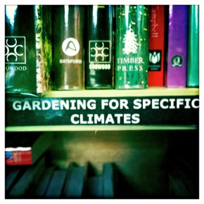 Gardening for Specific Climates. Image Cat Jones 2012.