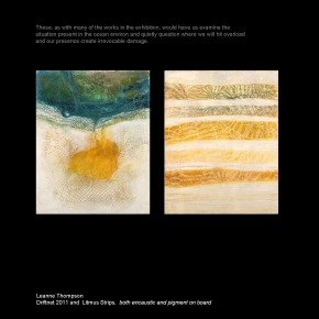 Leanne Thompson Driftnet and Litmus Strips 2012