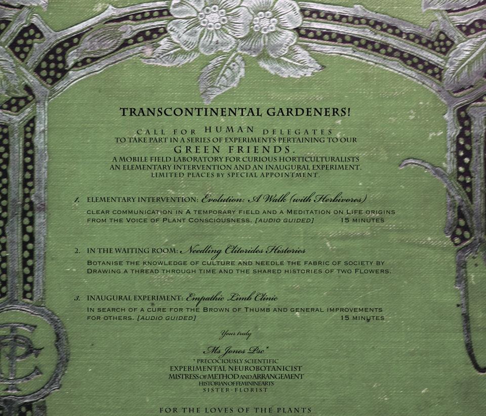 Transcontinental Gardeners- call for delegates website